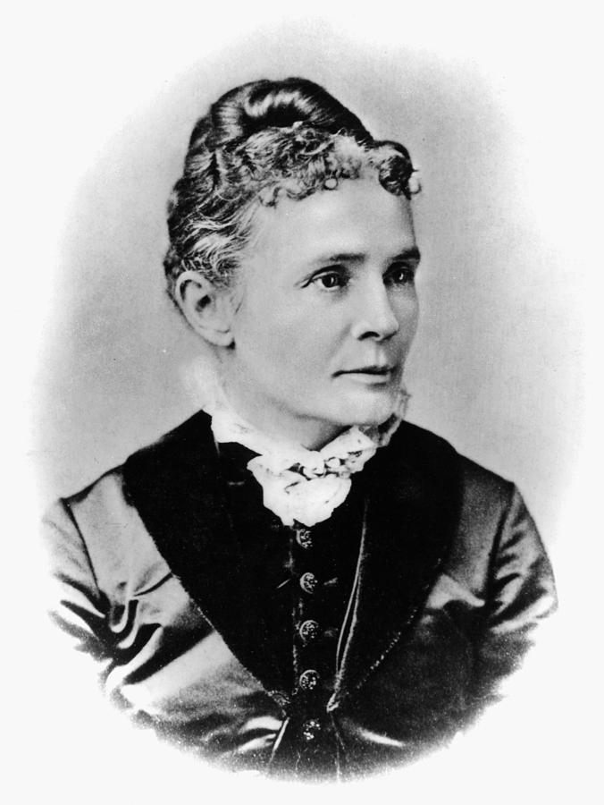 1881 Photograph - Lucretia Garfield (1832-1918) by Granger