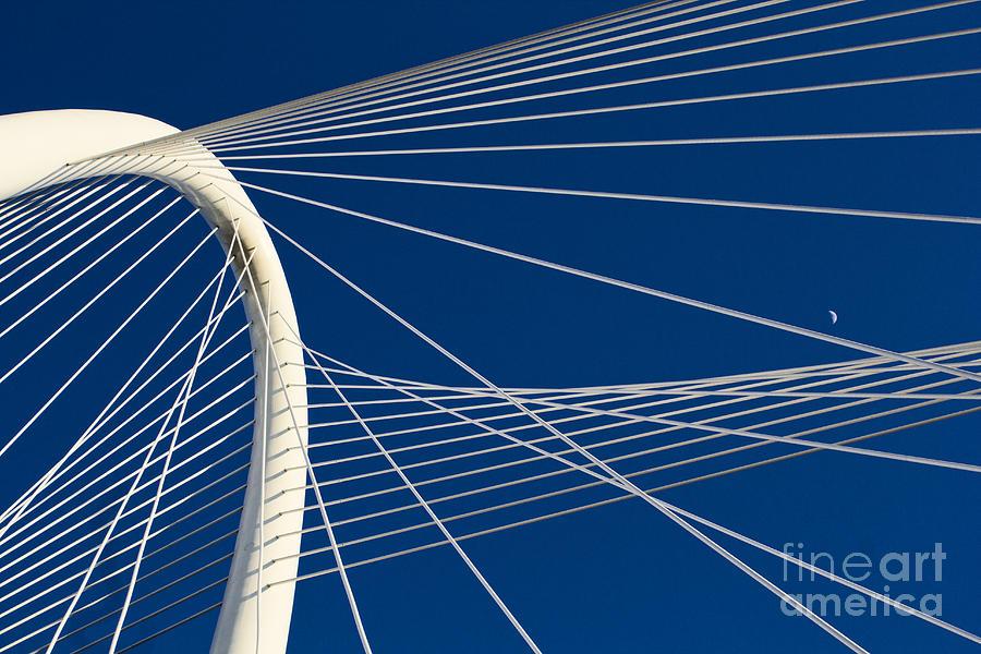 Margaret Hunt Hill Bridge Photograph - Margaret Hunt Hill Bridge by Elena Nosyreva