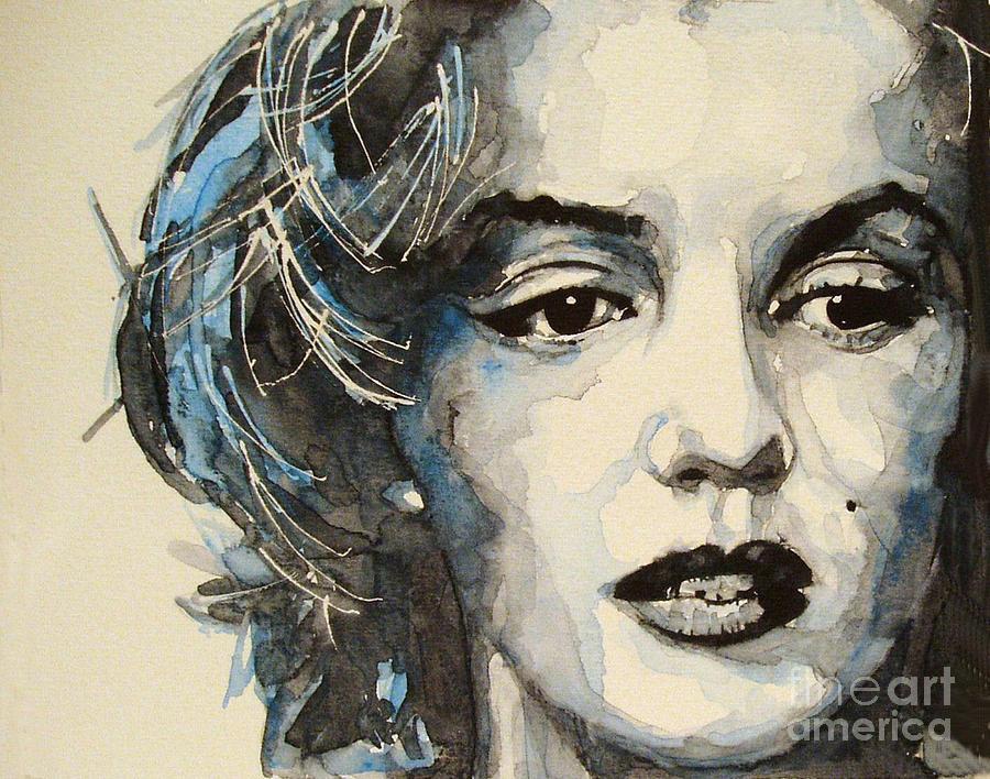 Marilyn Monroe Painting - Marilyn by Paul Lovering