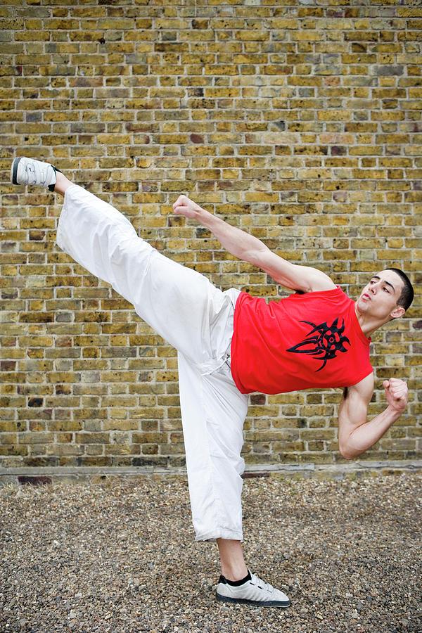 Martial Arts Kick 3
