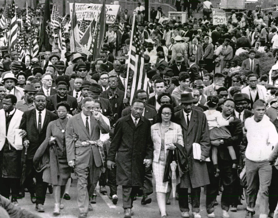 Classic Photograph - Martin Luther King by Retro Images Archive