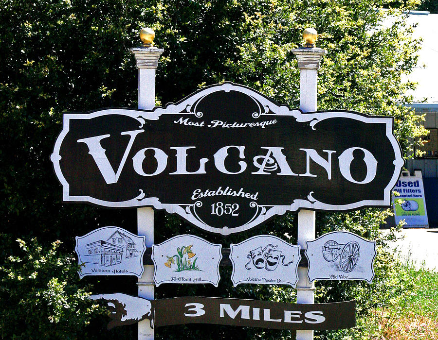 Volcano California Photograph - 3 Miles To Volcano by Joseph Coulombe
