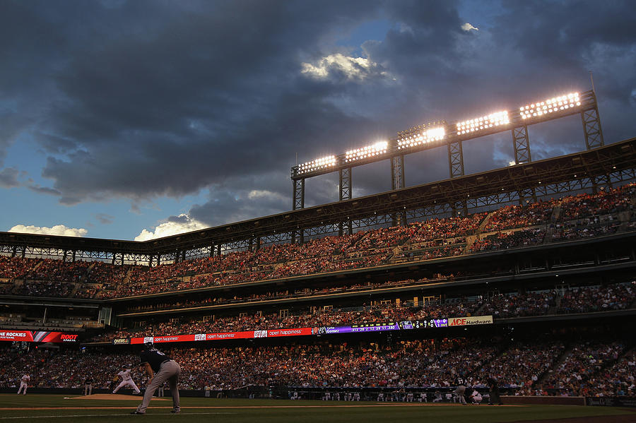 Milwaukee Brewers V Colorado Rockies Photograph by Doug Pensinger