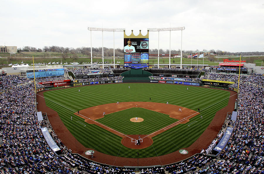 Minnesota Twins V Kansas City Royals Photograph by Jamie Squire
