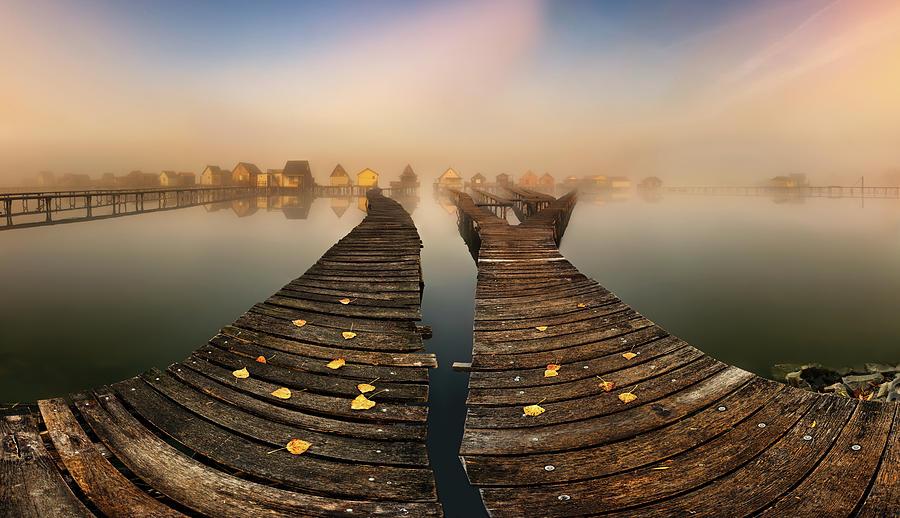Mist... Photograph by Krzysztof Browko