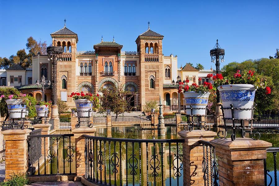 Andalucia Photograph - Mudejar Pavilion In Seville by Artur Bogacki