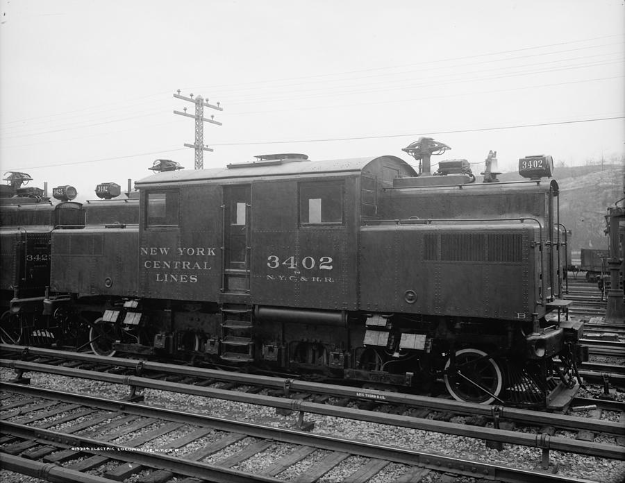 1904 Photograph - New York Central Railroad by Granger