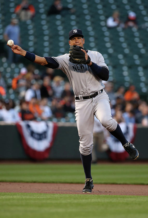 New York Yankees V Baltimore Orioles 3 Photograph by Rob Carr