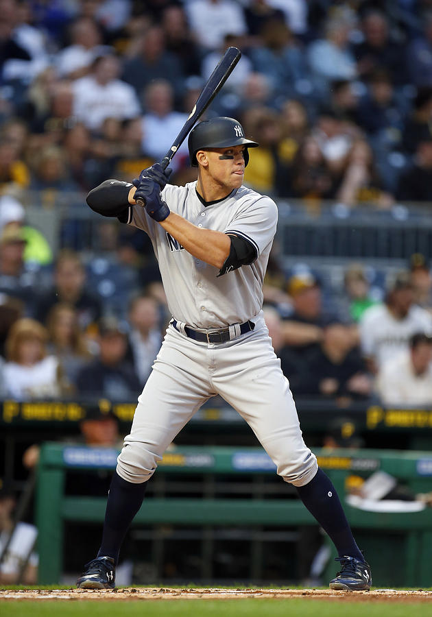 New York Yankees v Pittsburgh Pirates Photograph by Justin K. Aller