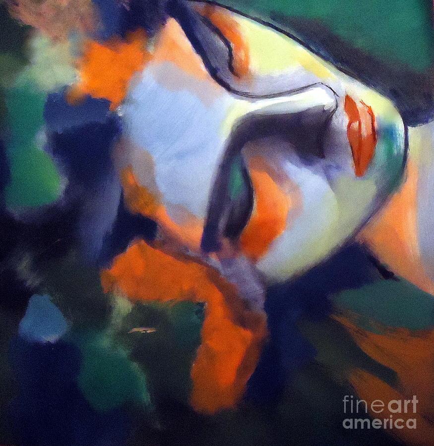 Art For Sale Painting - Nightfall by Helena Wierzbicki