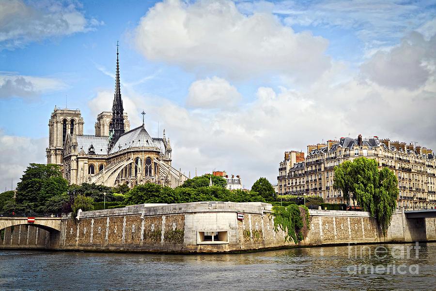 Notre Dame De Paris 1 Photograph
