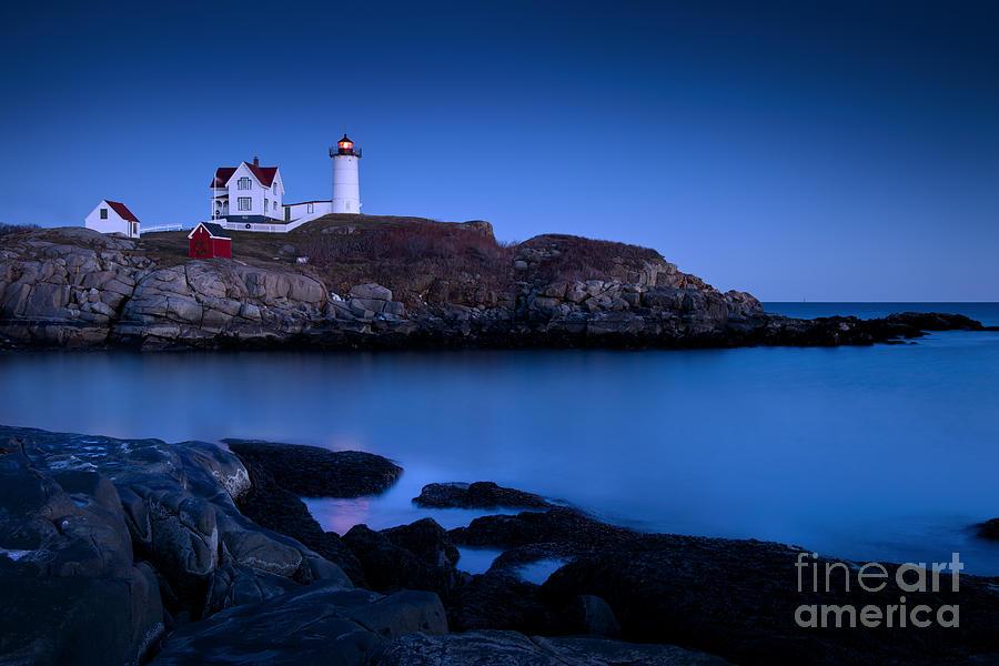Nubble Photograph - Nubble Lighthouse by Brian Jannsen
