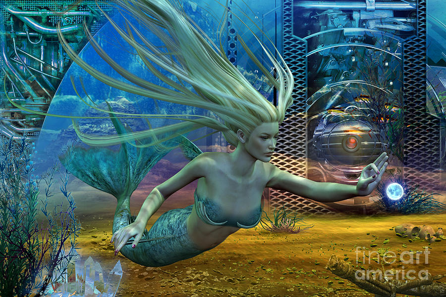 Of Myths And Legends Digital Art by Shadowlea Is