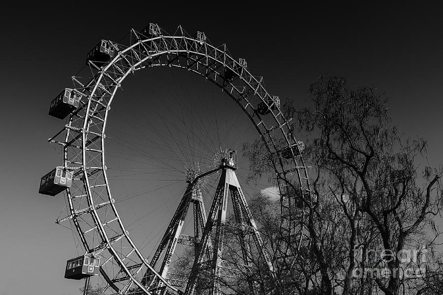 Old Ferris Wheel Photograph