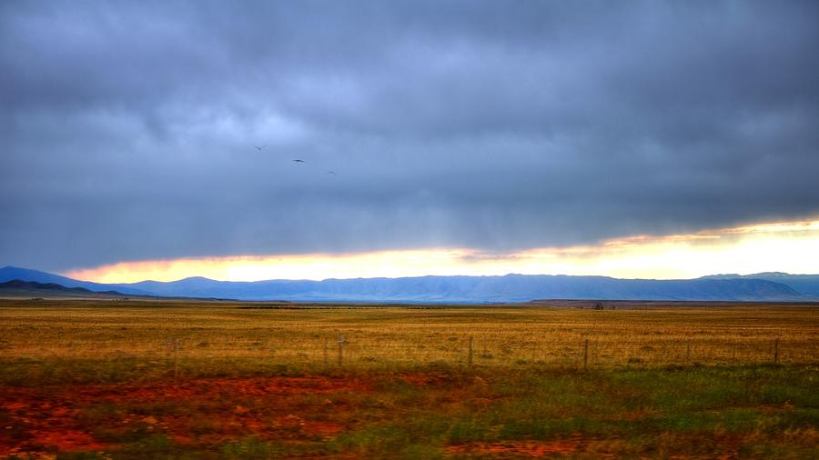 3 Over The Wyoming Landscape 16360 Photograph
