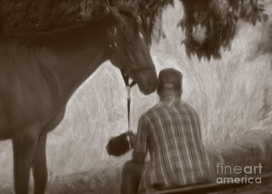 Horse Photograph - Pals by Jeff Breiman