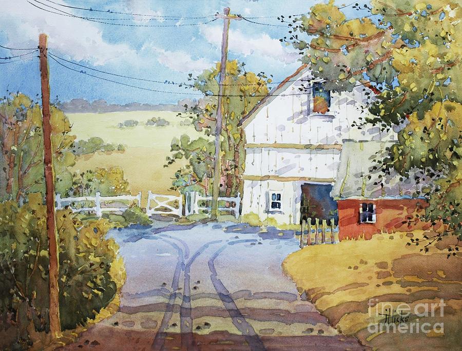 Pennsylvania Painting - Peaceful In Pennsylvania by Joyce Hicks