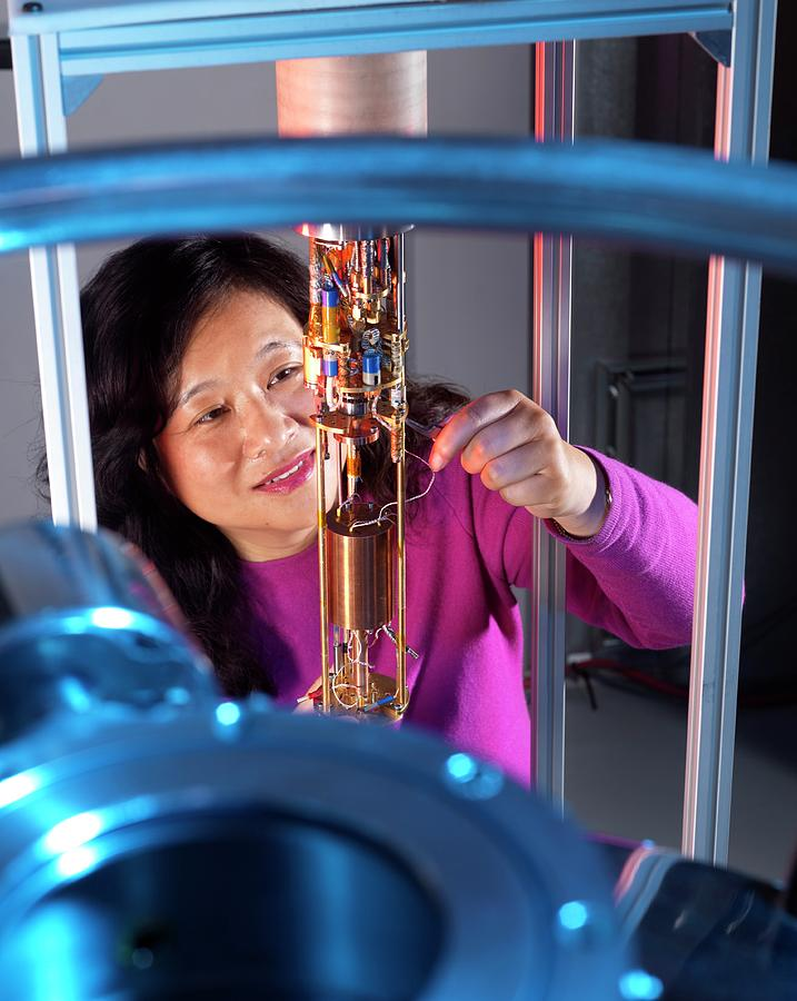 Equipment Photograph - Photon Detection by Andrew Brookes, National Physical Laboratory/science Photo Library