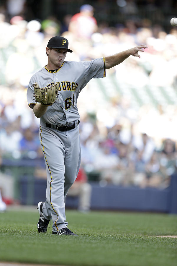 Pittsburgh Pirates v Milwaukee Brewers Photograph by Mike McGinnis