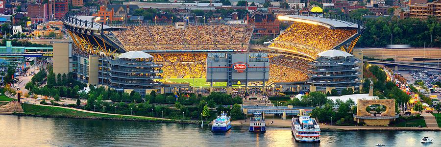 Steelers Photograph - Pnc Park  by Emmanuel Panagiotakis