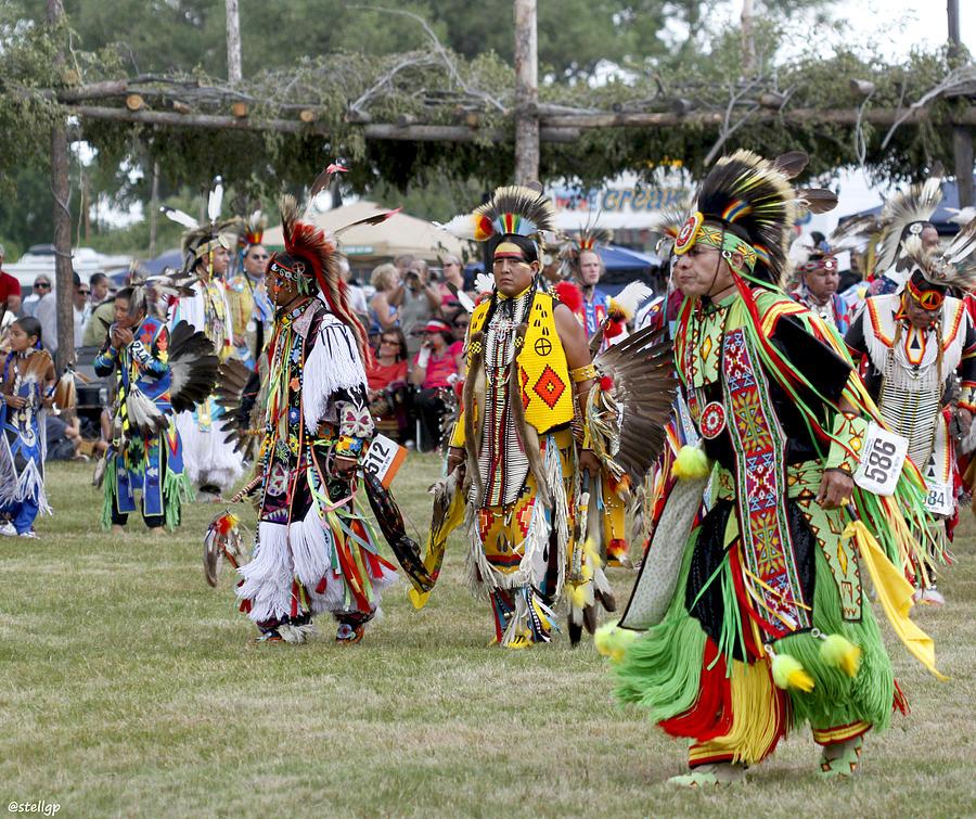 Taos Pueblo Photograph - Pow Wow by Stellina Giannitsi