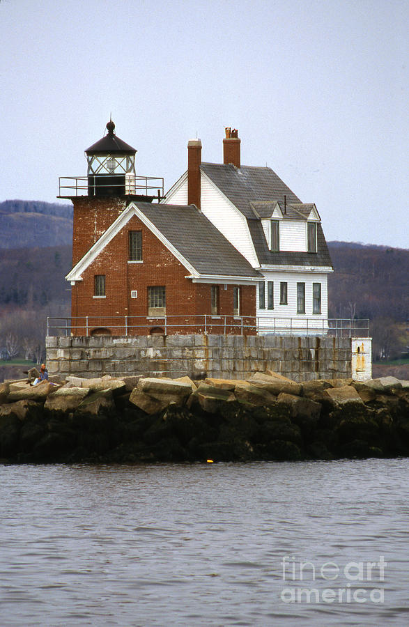 Maritime Photograph - Rockland Breakwater Lighthouse by Skip Willits