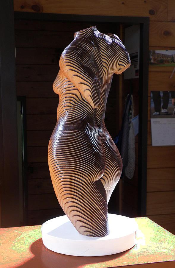 Roxie white and grey - Olivier Duhamel, Sculptor