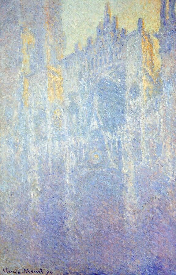Painting Painting - Rouen Cathedral by Claude Monet