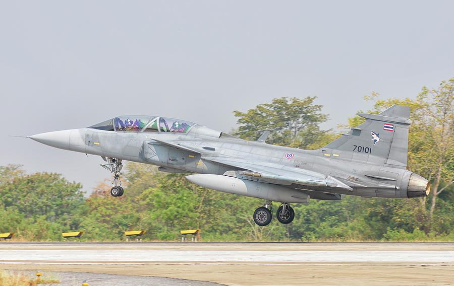 Royal Thai Air Force Saab Jas-39 Gripen