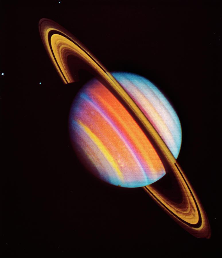 Saturn Photograph by Nasa