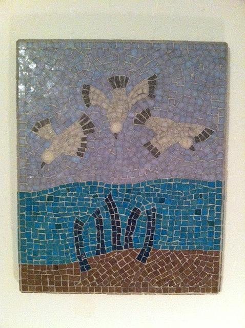 Sea Gulls Digital Art - Sea Gulls by Eileen Turpin