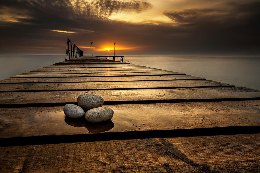 Sea Sunrise Photograph