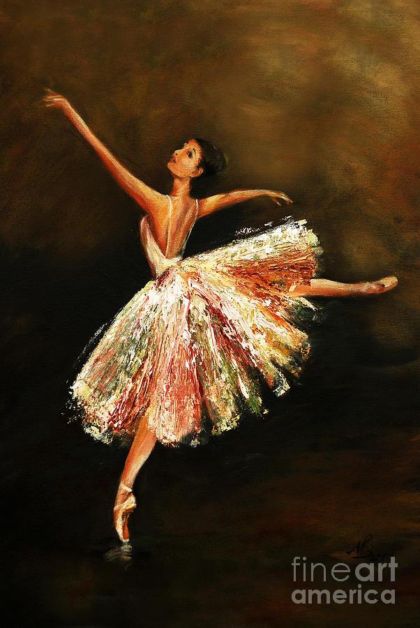 Second Arabesque by Nancy Bradley