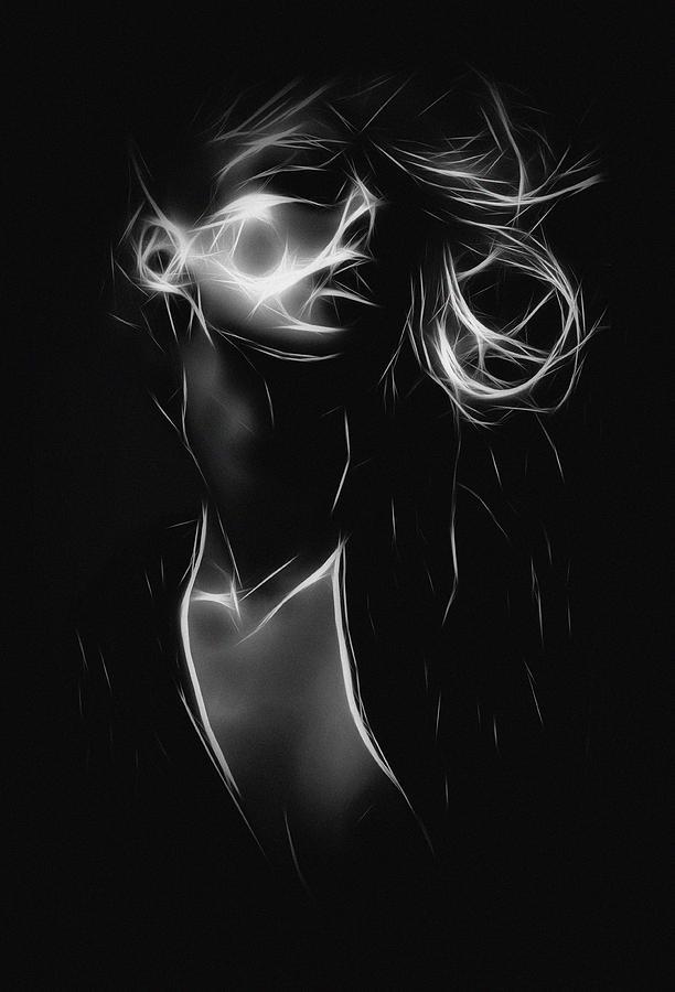 Sensual Woman Painting By Steve K