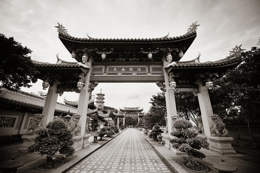Singapore Chinese Temple Photograph