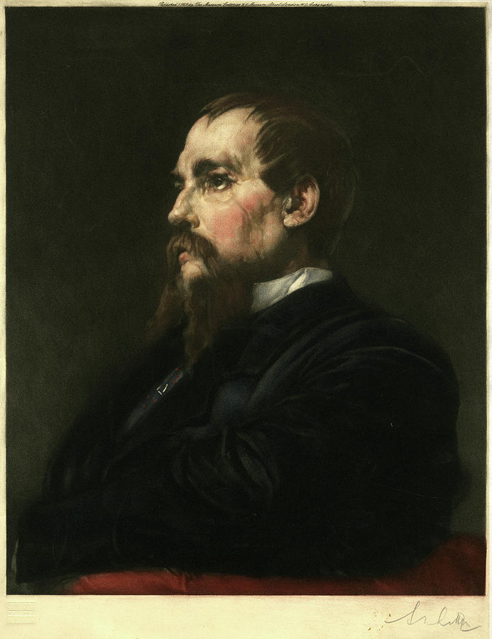 Richard Drawing - Sir Richard Francis Burton  Traveller 3 by Mary Evans Picture Library