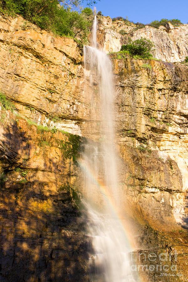 Skaklia Waterfall Photograph