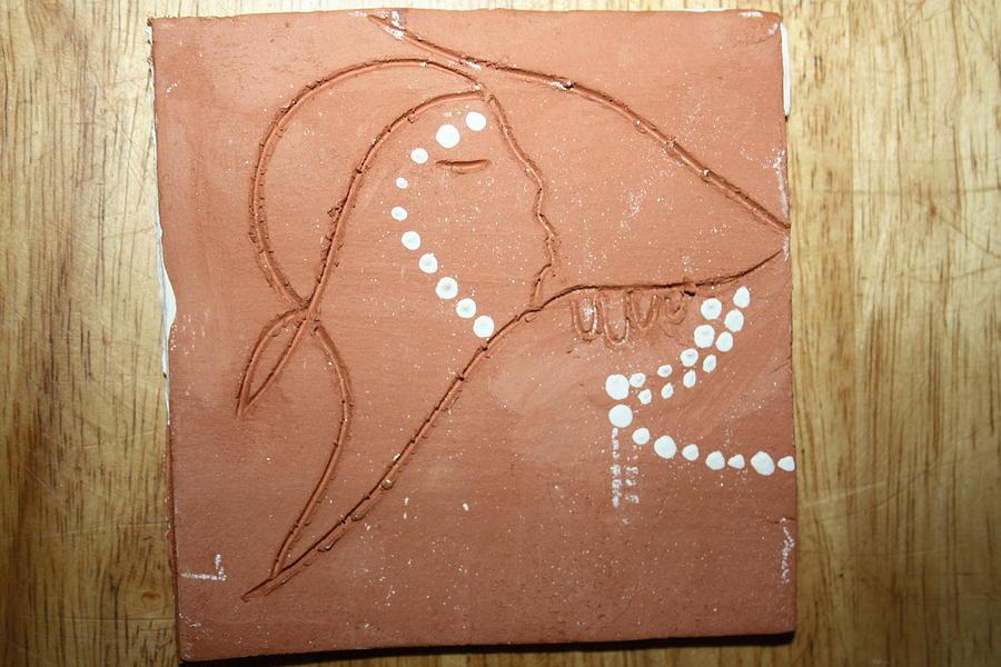 Jesus Ceramic Art - Sleep - Tile by Gloria Ssali
