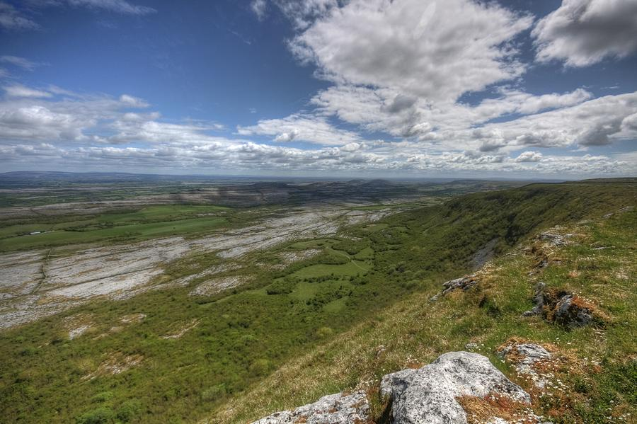Beautiful Landscape Photograph - Slieve Carran View by John Quinn