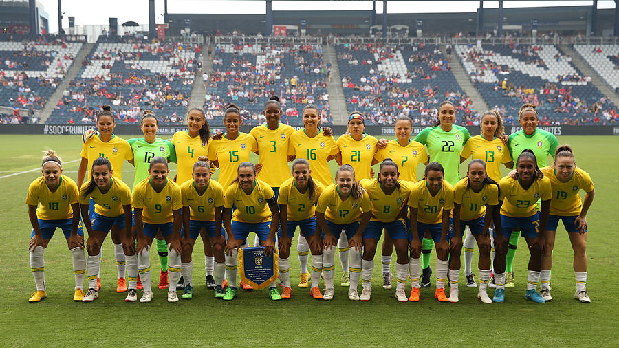 SOCCER: JUL 26 Tournament of Nations - Brazil v Australia Photograph by Icon Sportswire