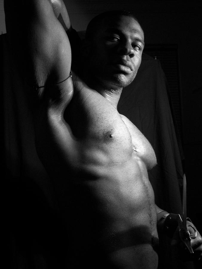 Nubian Photograph - Solomon The Nubian by Jake Hartz