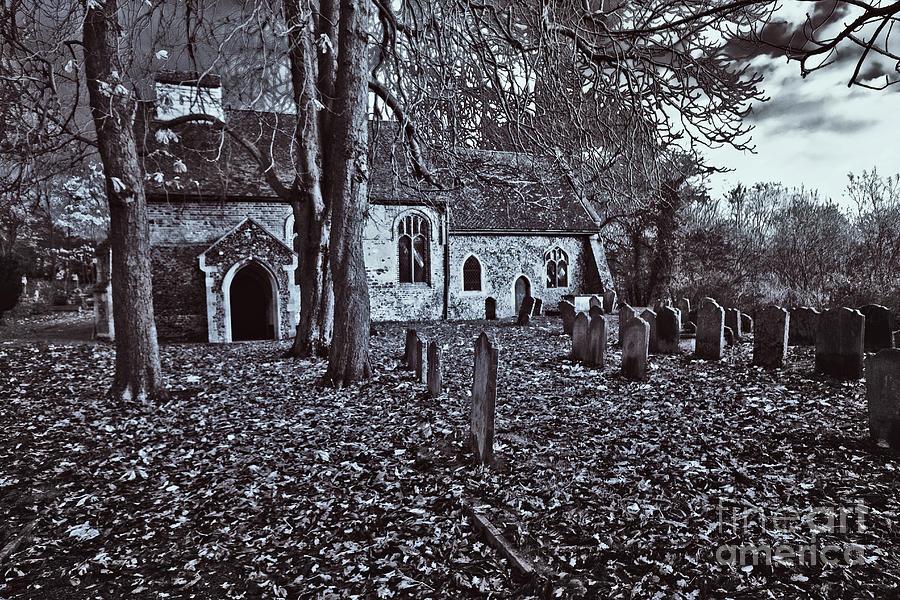 St Margaret Of Antiochs Photograph - St Margaret Of Antiochs Church Linstead by Darren Burroughs