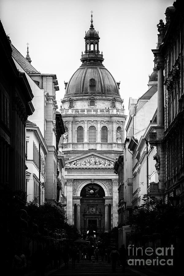 Budapest Photograph - St. Stephens Basilica by Mohamed Rahmo