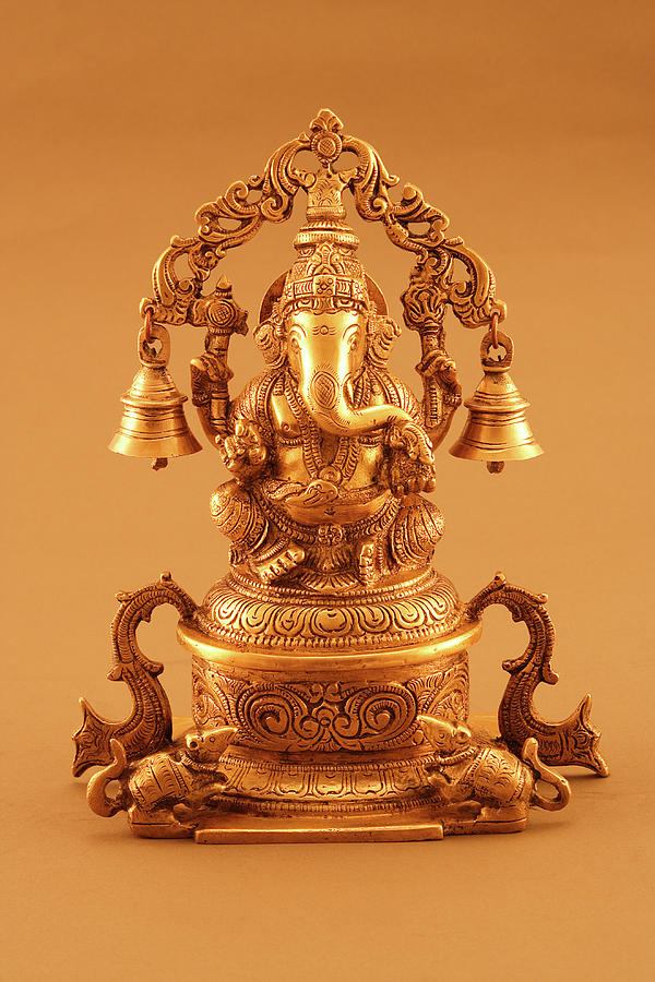 Statue Of Lord Ganesh Photograph by Visage