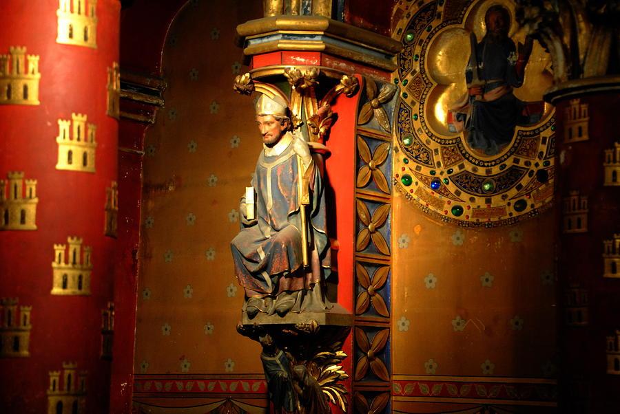 Sainte Chapelle Photograph - Ste.-chapelle by Jacqueline M Lewis