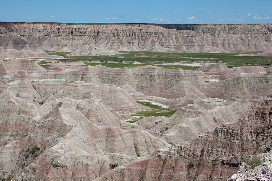 America Photograph - The Badlands by Scott Sanders