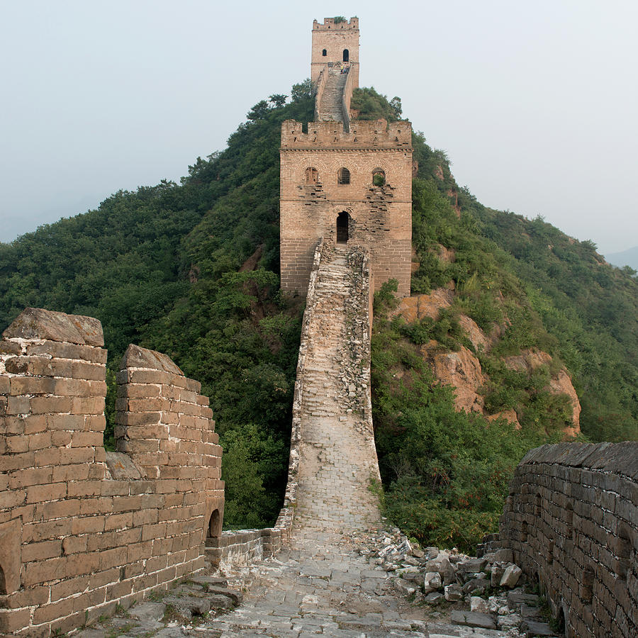 The Great Wall Of China Photograph by Keith Levit / Design Pics