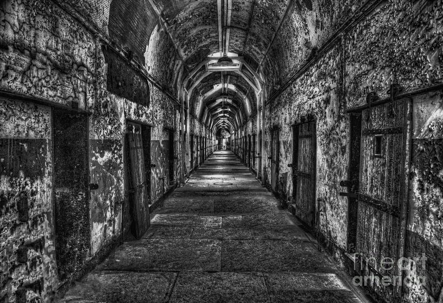 Prison Photograph - The Long Walk by Arnie Goldstein