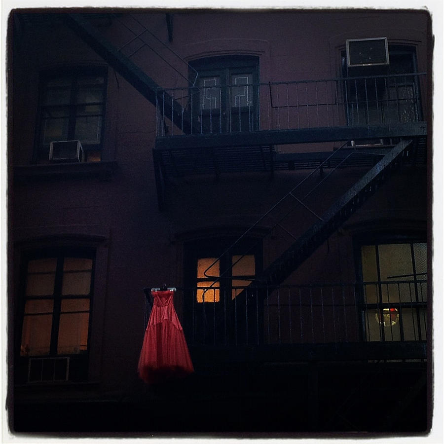 The Red Gown by Natasha Marco