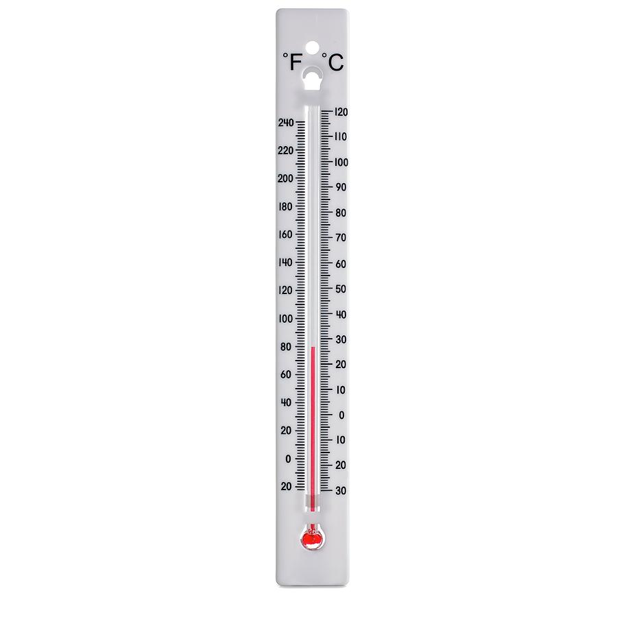 Nobody Photograph - Thermometer by Science Photo Library
